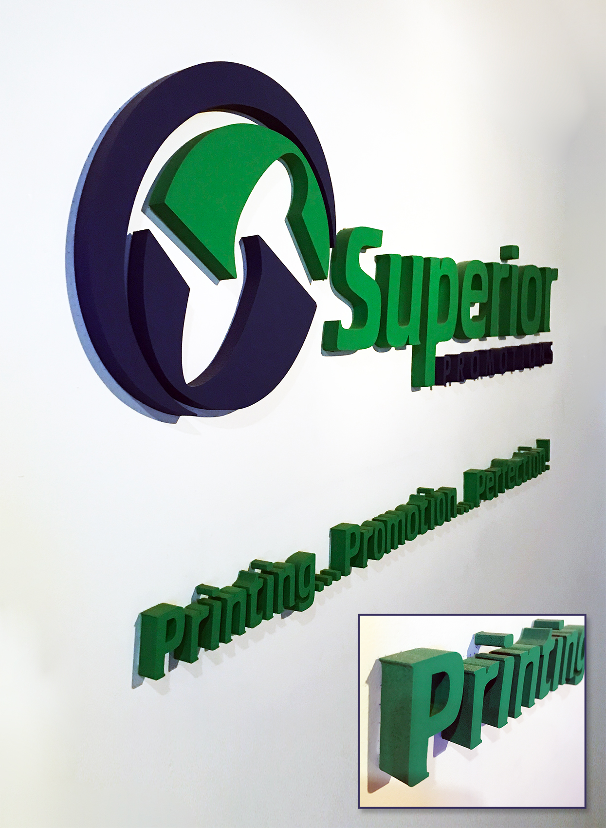 Superior Raised Letter Sign