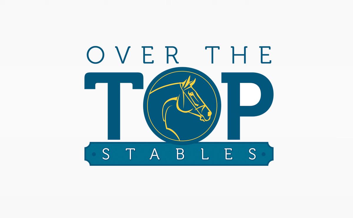 Over the Top Stables | Logo design | Medford, MA | Boston, MA