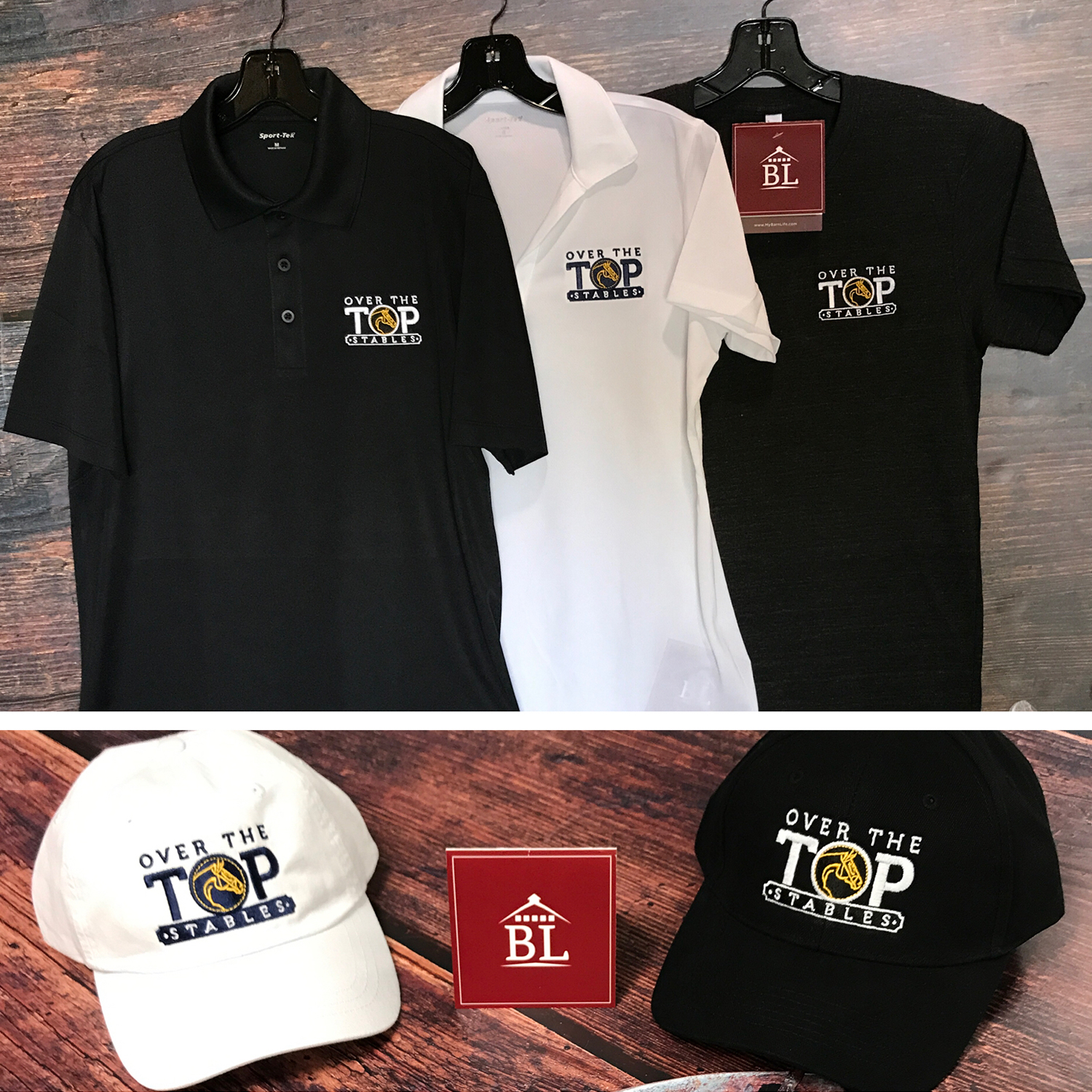 Barnlife | Over The Top Stable | Logo Design & Embroidery