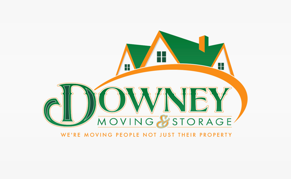 Downey Moving & Storage Logo | Logo Design | Medford, MA | Boston, MA