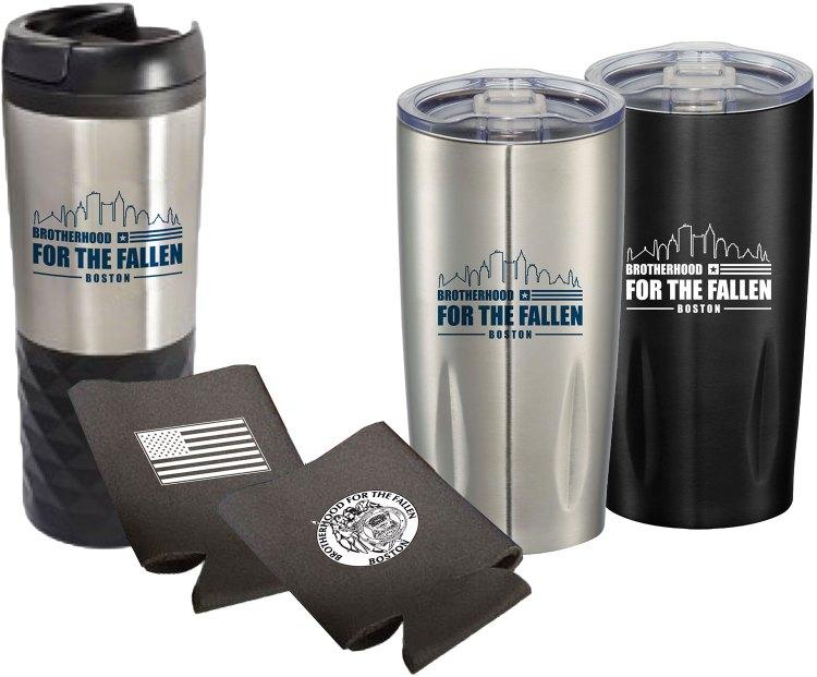 Brotherhood For The Fallen | Promotional Items | Custom Drinkwear | Branding