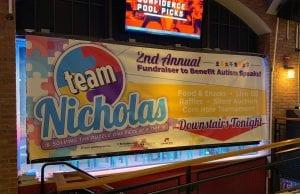 Team Nicholas Event Banner