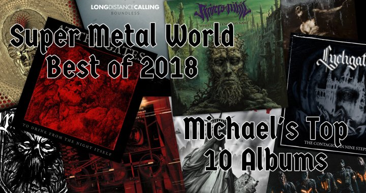 Michael's Top 10 Metal Albums of 2018