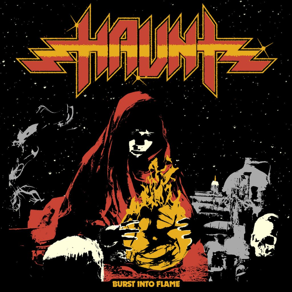 Haunt - Burst Into Flame Album Cover