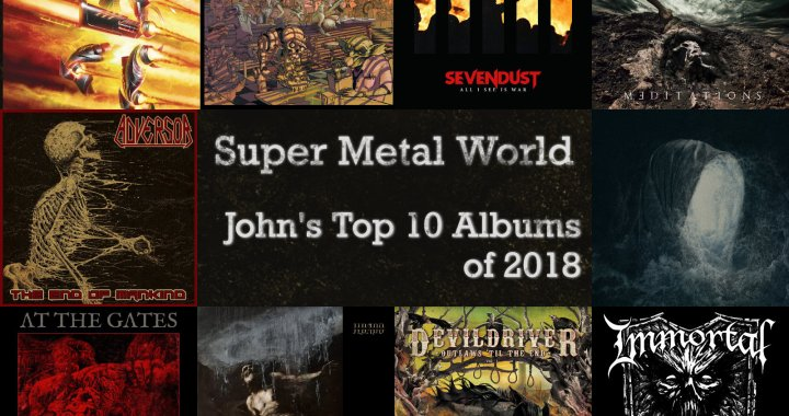 JOHN'S FAVORITE ALBUMS OF 2018.