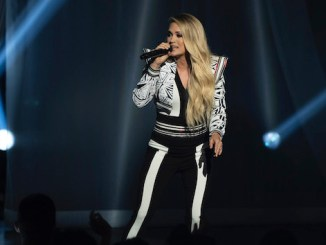 Carrie Underwood surprises CMA Summer Jam crowds with a Dwight Yoakam jam session