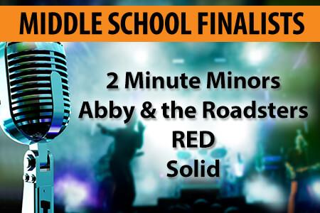 Middle School Finalists