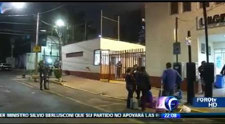 Detectan fuga de gas en el Hospital Pediátrico de Tacubaya