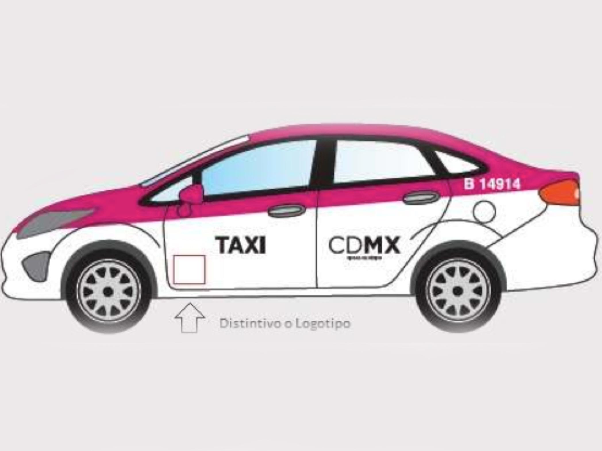 Taxis del DF tendrán nueva imagen