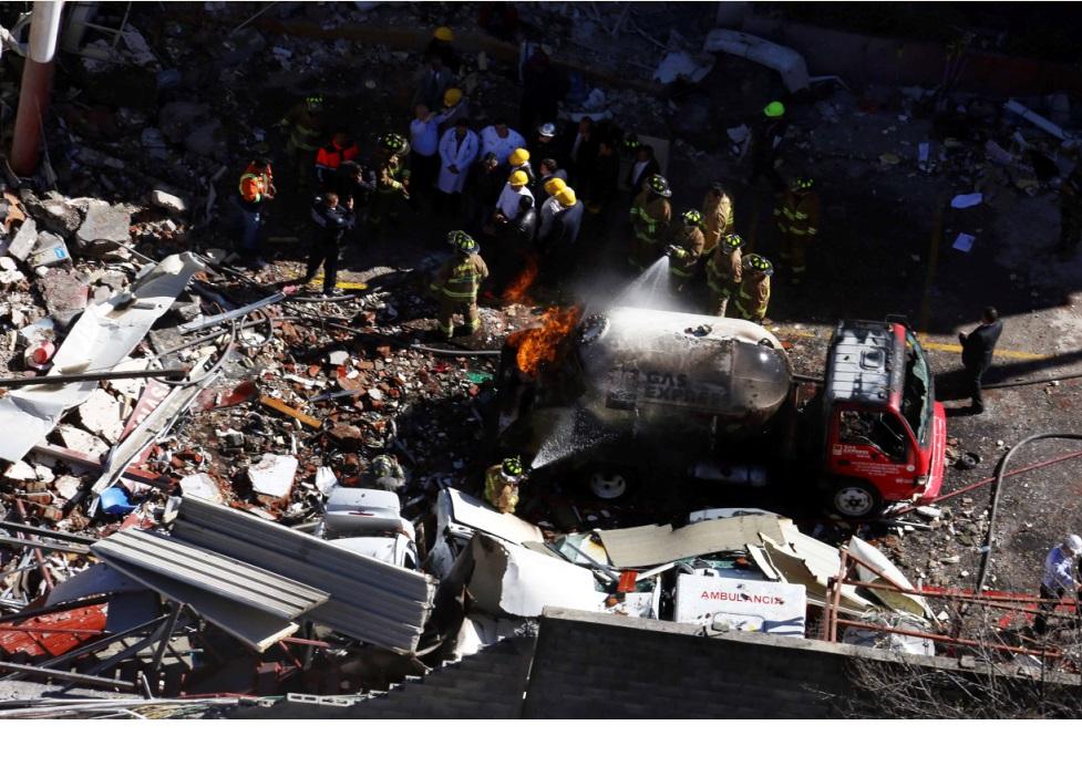 Continúa proceso de Gas Express Nieto por explosión en Cuajimalpa