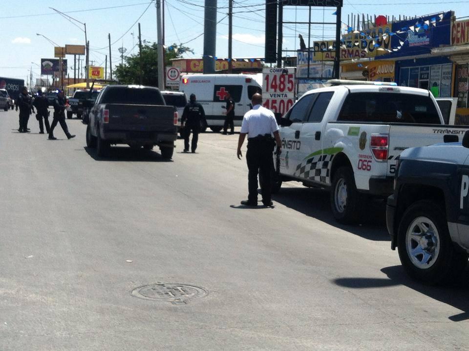 Taxistas y policías se enfrentan en Santa Fe