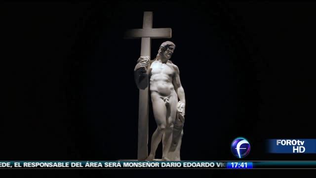 Miguel Ángel y Da Vinci atraen a miles a Bellas Artes