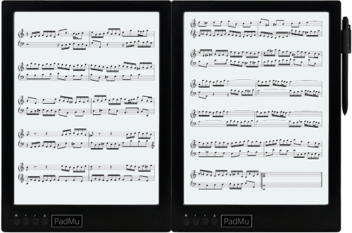 "The Padmu Sheet Music Reader Features a Pair of 13.3"" Screens (videos) e-Reading Hardware"