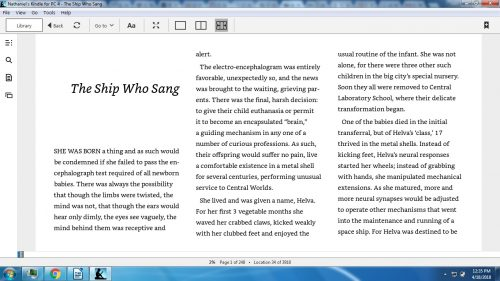 Kindle for PC 1.23.1 Adds New Font Options, Multi-Column Option e-Reading Software Kindle (platform)
