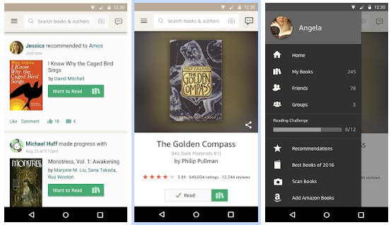 Goodreads is Beta-Testing a New Android App Amazon e-Reading Software Social reading