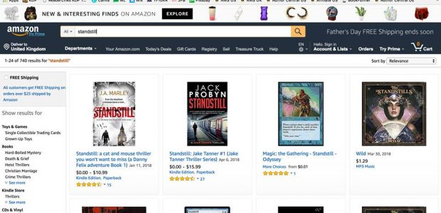 Amazon is Trying a New Page Layout in the Search Results Amazon