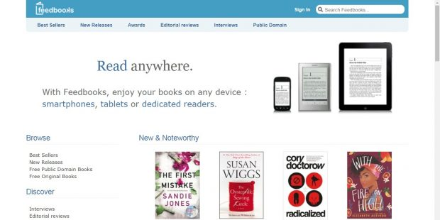 Feedbook, Aldiko Bought in Bankruptcy Sale for 230,000 Euros Digital Library e-Reading Software
