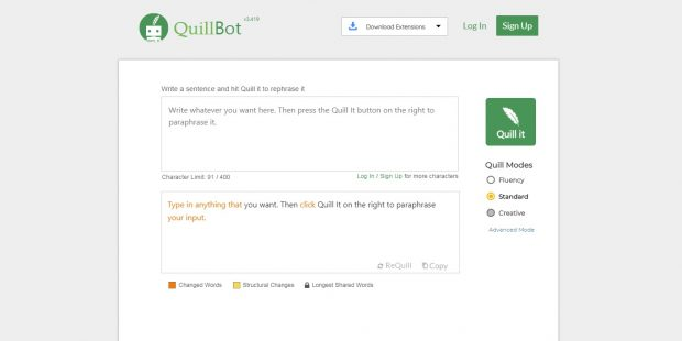 Quillbot is the Freshman English Student's Best Friend Writing