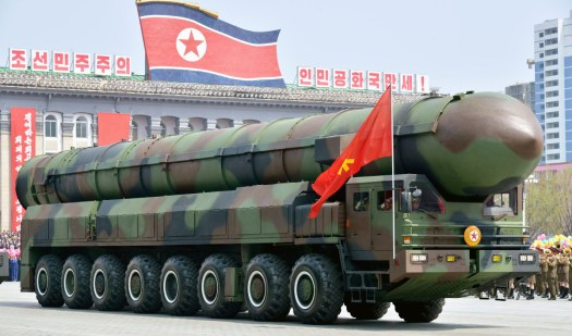 A canisterized ICBM-type design that North Korea has yet to demonstrate in an actual test.