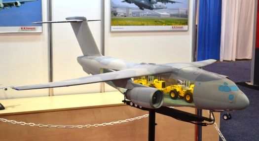 A model of the Kawasaki C-2.