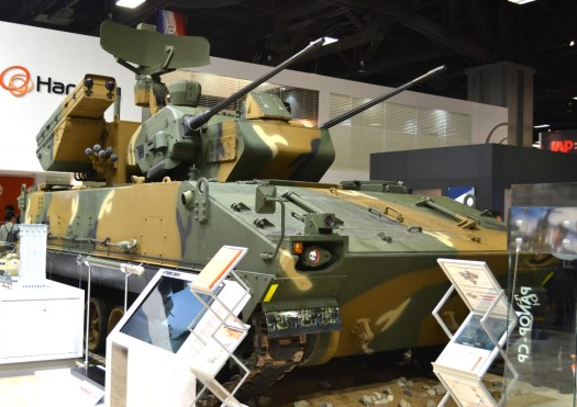 The Hybrid Biho mobile air defense system.