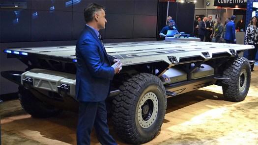 A mockup of GM's SURUS.