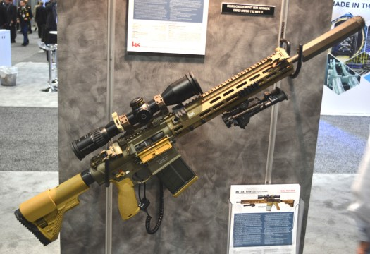 Heckler and Koch's M110A1 CSASS.