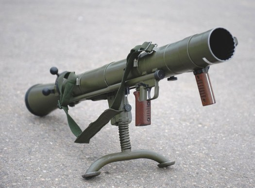 A Carl Gustaf M2, which entered production in 1964.