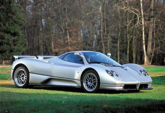 The Zonda C12 in its original form.