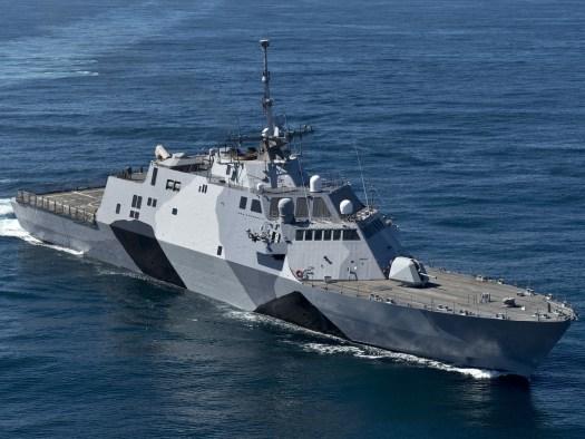 Freedom class Littoral Combat Ship.