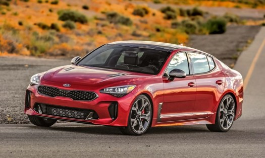 2019 Kia Stinger GT Left Front Three Quarters