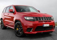 2019 Jeep Grand Cherokee Trackhawk (UK Spec.) Right Front Three Quarters