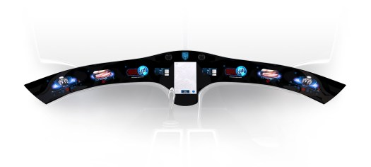 The prototype dashboard