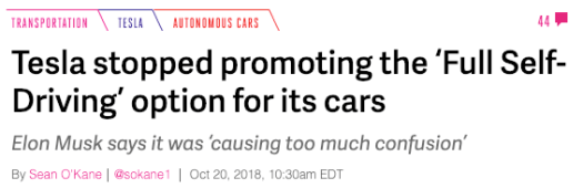 Paying for Full Self-Driving? Puhleez.