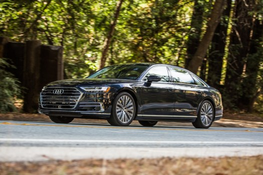 With its 335-hp turbo V-6, Audi eases from 0 to 60 mph in 5.6 seconds