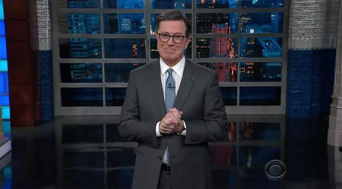 stephen colbert michael wolff fire and fury donald trump