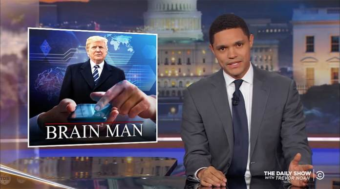trevor noah michael wolff donald trump stable genius