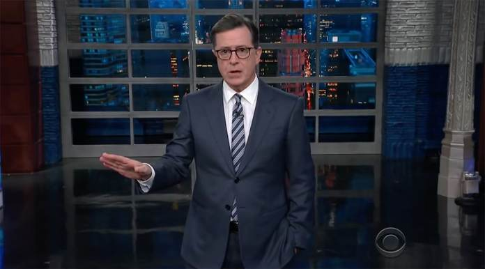 stephen colbert late show mexico border wall donald trump