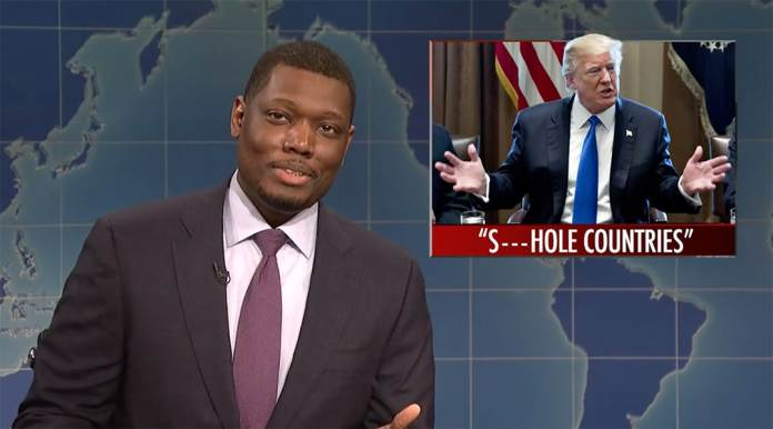 michael che and colin jost take on trump s shithole comments the
