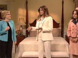 snl saturday night live jackie o hillary clinton melania trump