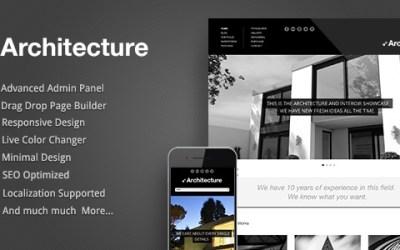 ARCHITECTURE V1.06 – WORDPRESS THEME