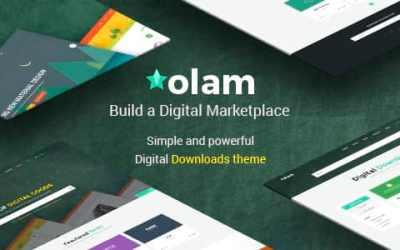 OLAM V3.1 – WORDPRESS EASY DIGITAL DOWNLOADS THEME