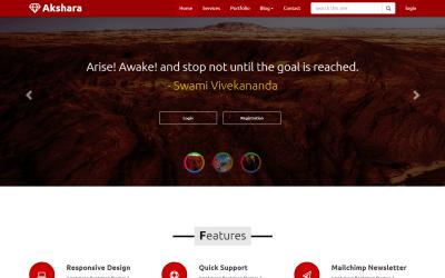 Free download Bootstrap Akshara Multi Master asp templates
