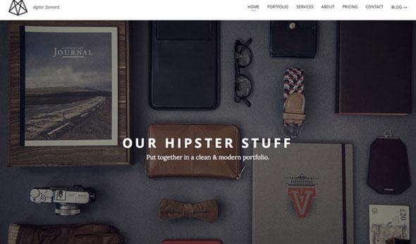 Queens – One-Page Portfolio HTML5