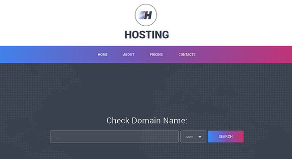 Hosting – Creativemarket Responsive One Page Theme