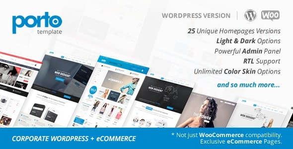 Porto 3.3.3 – Responsive WordPress + WooCommerce Theme