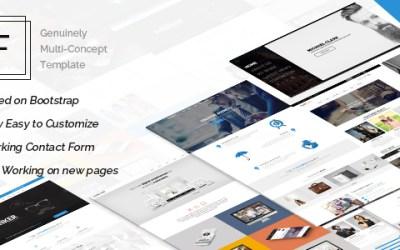 FAJAR V1.6 – THE MULTI-PURPOSE HTML5 TEMPLATE