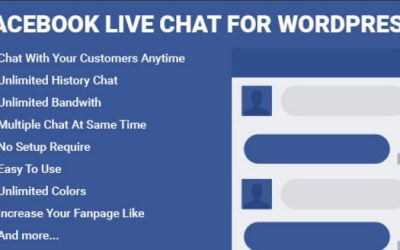 Facebook Live Chat for WordPress Free download