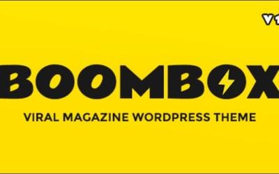BoomBox 1.6.4.3 — Viral & Buzz WordPress Theme