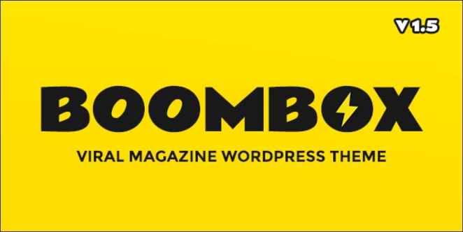 BoomBox 1.6.4.3 — Viral & Buzz WordPress Theme